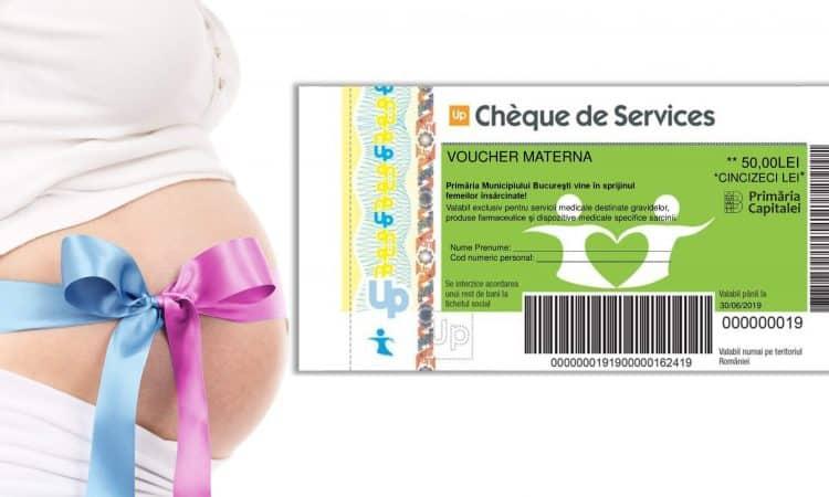 Voucherele Materna oferite de Primaria Municipiului Bucuresti